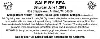Saturday, June 1, 2019