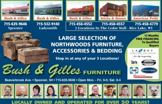 Largest Selection of Northwoods Furniture, Accessories & Bedding