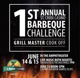 1st Annual St. Croix Casino Barbeque Challenge