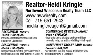 Realtor Heidi Kringle