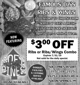 Famous Dz's Ribs & Wings