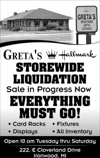 Storewide Liquidation