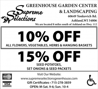 10% off / 15% off