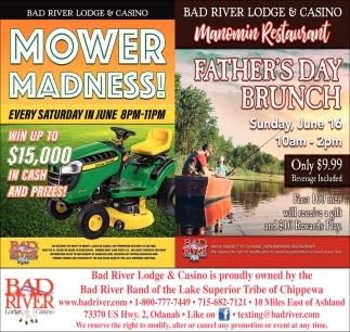 Mower Madness! / Manomin Father's Day Brunch