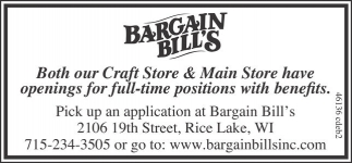 Have Openings for full-time positions
