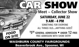 Swap Meet, Collector Show