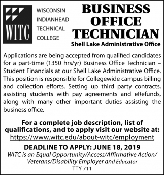 Business Office Technician