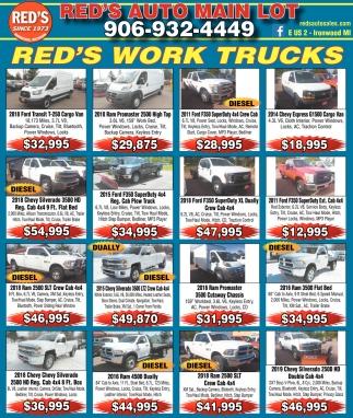 Red's Work Trucks