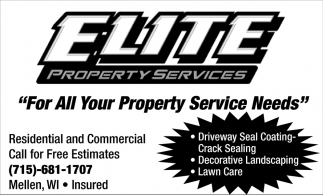 For All Your Property Service Needs