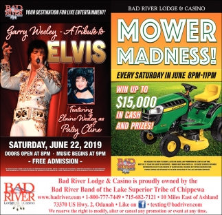 Garry Wesley A Tribute to Elvis / Mower Madness!