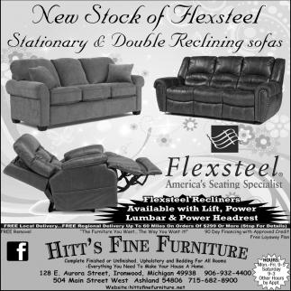 New Stock of Flexteel