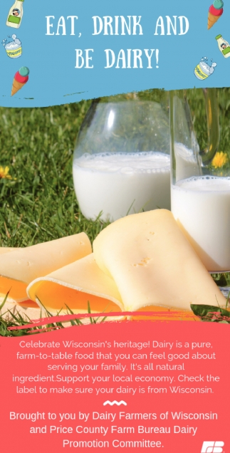 Eat, Drink and be Dairy!