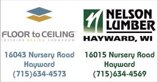 Floor To Ceiling / Nelson Lumber