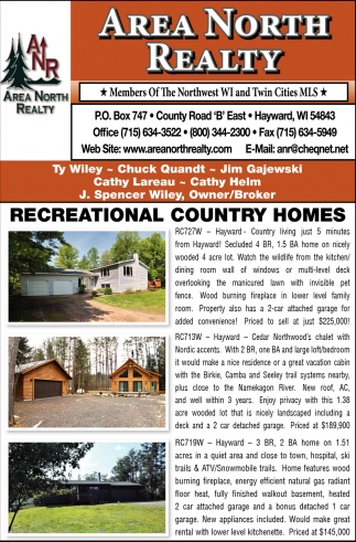Recreational Country Homes