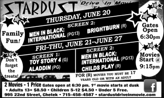 Cinema Listings