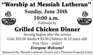 Worship at Messiah Lutheran