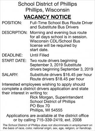School Bus Route Driver