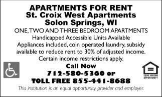 Apartments for Rent