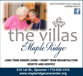 Long Term Senior Living - Short Term Rehabilation