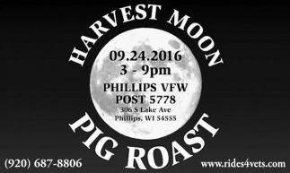 HARVEST MOON PIG ROAST