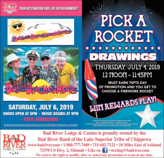 Bob and The Beachcombers / Pick a Rocket Drawings