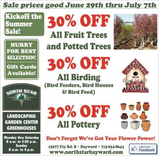 Sale prices good June 29th thru July 7th