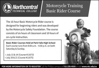 Motorcycle Training Basic Rider Course