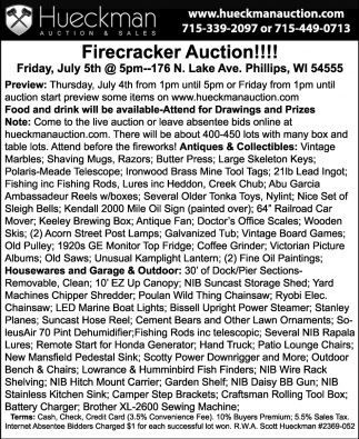 Firecracker Auction