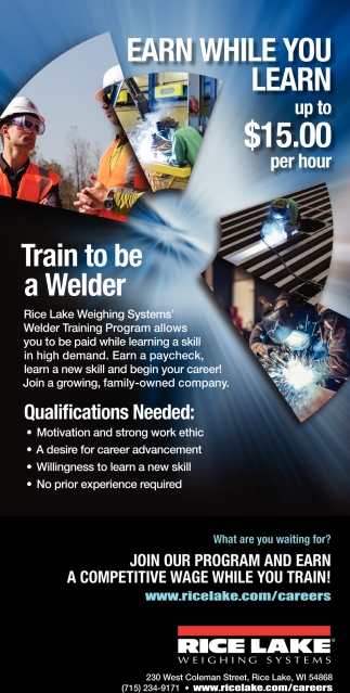 Train to be a Welder