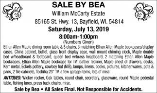 Saturday, July 13, 2019