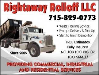 Rolloff Dumpster Services