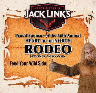 Sponsor of the 66th Annual Heart of the North Rodeo