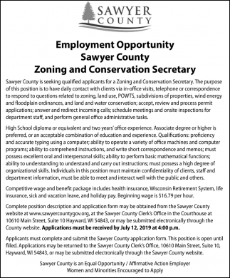 Zoning and Conservation Secretary