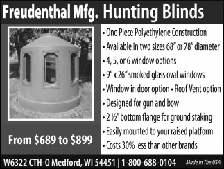 Hunting Blinds