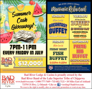 Summer Cash Giveaway / Manomin Restaurant