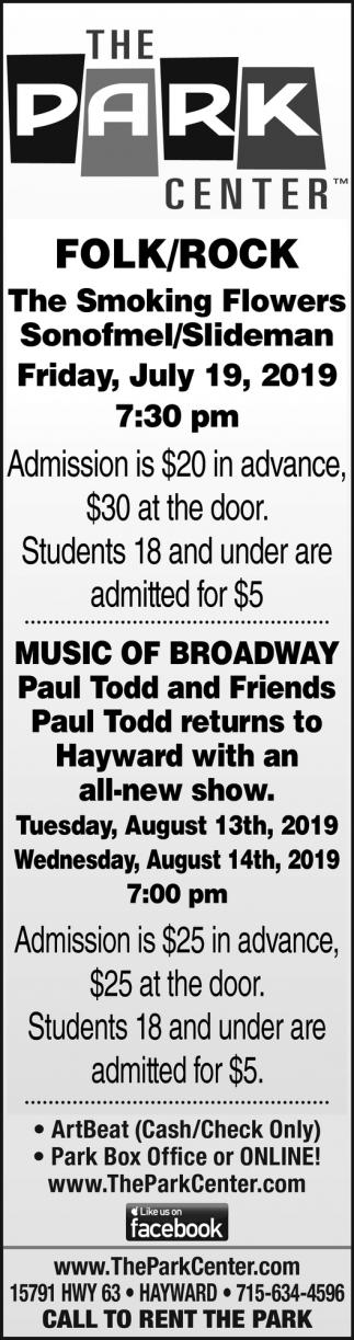Folk/Rock,Music of Broadway
