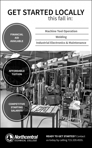 Machine Tool Operation, Welding, Industrial Electronics & Maintenance