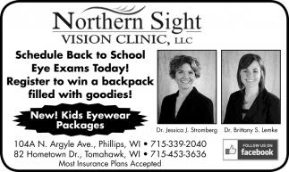 Back to School Eye Exams