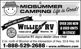 Midsummer Camping