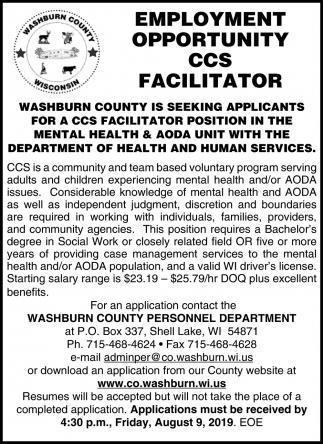 CCS Facilitator