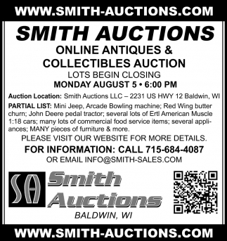 Online Antiques & Collectibles Auctions
