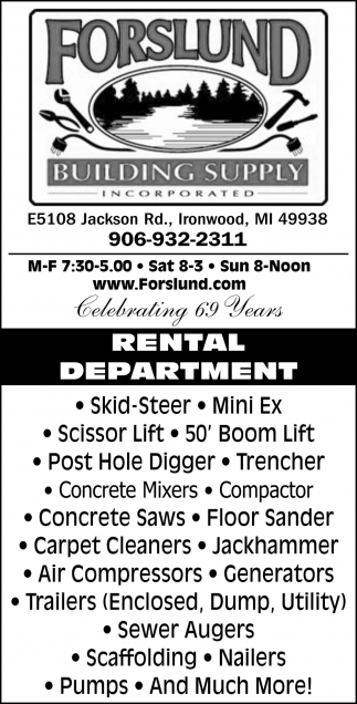 For All Of Your Building & Remodeling Needs