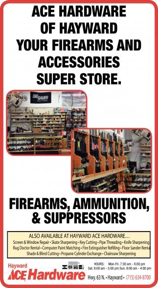 Your firearms and accessories super store