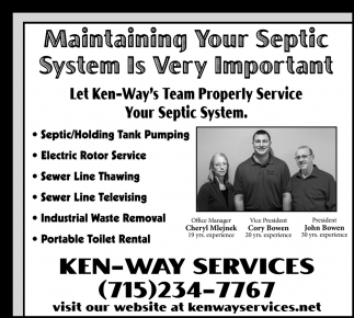 Maintaining Your Septic System Is Very Important