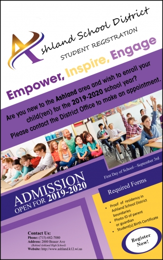 Admission Open for 2019-2020