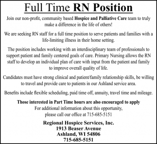 RN Position