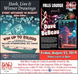 Hook, Line & Winner Drawings / Dave BeBeau