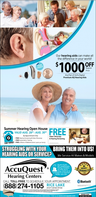 Summer Hearing Open House