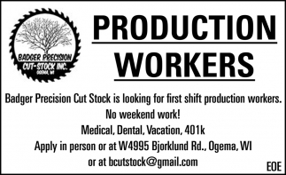Production Workers