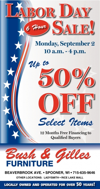 Labor Day Sale! 50% off